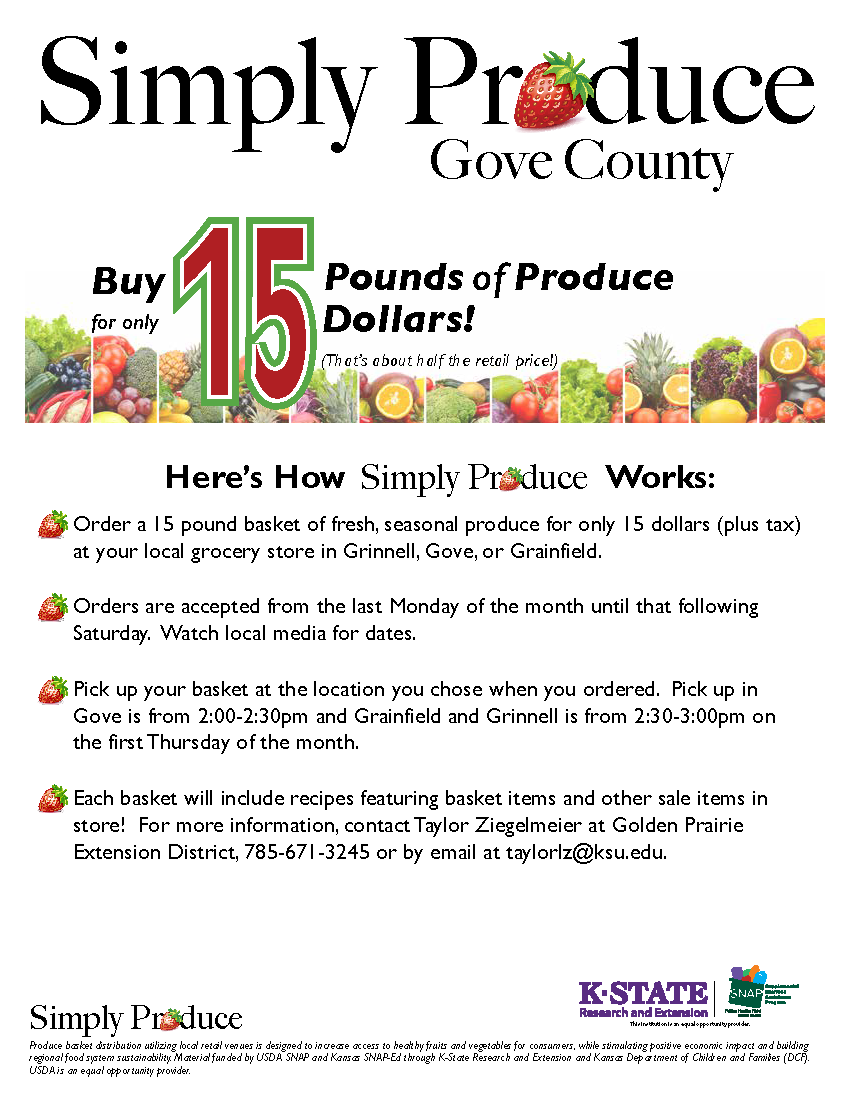 simply produce gove city